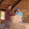 making a custom-sized bale