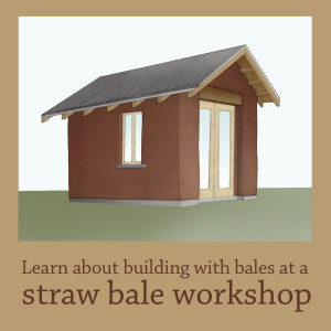 hands-on straw bale workshops