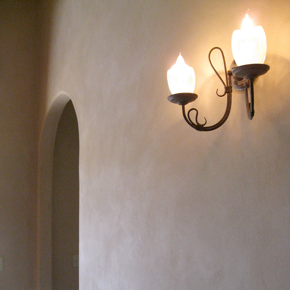 Amazing Clay Plaster Is Gorgeous, Durable, Non Toxic, And Environmentally Friendly.  It Is Anti Static, Easily Repaired, And Even Helps Moderate Indoor Humidity.