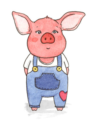 The Story of the Fourth Little Pig - Simple Construct